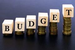 προϋπολογισμών Στοκ φωτογραφίες με δικαίωμα ελεύθερης χρήσης