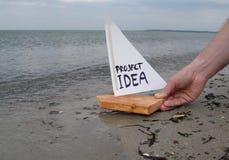 Προώθηση μιας ιδέας προγράμματος Στοκ Φωτογραφία