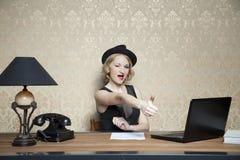 Προώθηση στην εργασία και το γραφείο στοκ φωτογραφία με δικαίωμα ελεύθερης χρήσης