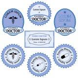 Προώθηση των υπηρεσιών οικογενειακών γιατρών Στοκ Φωτογραφίες