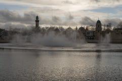 Προ-επίδειξη Aquanura στο Efteling Στοκ Εικόνες