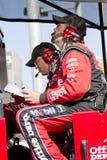 Προ!ιστάμενος πληρωμάτων φλυτζανιών ορμής NASCAR για το διαχειριστή Tony Στοκ φωτογραφίες με δικαίωμα ελεύθερης χρήσης