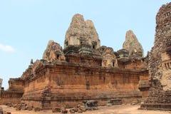 Προ ναός Rup Καμπότζη η banteay λίμνη της Καμπότζης angkor lotuses συγκεντρώνει siem το ναό srey Το Siem συγκεντρώνει την επαρχία Στοκ εικόνες με δικαίωμα ελεύθερης χρήσης