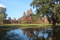 Προ ναός Rup Καμπότζη Το Siem συγκεντρώνει την επαρχία Το Siem συγκεντρώνει την πόλη Στοκ φωτογραφία με δικαίωμα ελεύθερης χρήσης
