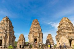 Προ Rup είναι ένας ινδός ναός σε Angkor, Καμπότζη Στοκ φωτογραφία με δικαίωμα ελεύθερης χρήσης