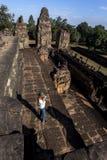 Προ Rup Angkor Wat Siem συγκεντρώνει την Καμπότζη Νοτιοανατολική Ασία είναι ένας ινδός ναός σε Angkor, Καμπότζη Στοκ φωτογραφίες με δικαίωμα ελεύθερης χρήσης
