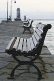 πρωί αποβαθρών Στοκ Φωτογραφίες