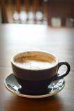 Πρωί καυτό Latte Στοκ Εικόνα