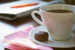 πρωί καφέ Στοκ φωτογραφίες με δικαίωμα ελεύθερης χρήσης