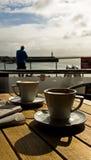 πρωί καφέ Στοκ Φωτογραφία