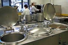 πρωί μαγείρων μαγειρέματος Στοκ Φωτογραφίες