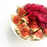 Πρωί με μερικά συμπαθητικά φρούτα Στοκ εικόνες με δικαίωμα ελεύθερης χρήσης
