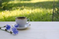 Πρωί μιας εγκύου γυναίκας υγιές ποτό για τα παιδιά στοκ εικόνες