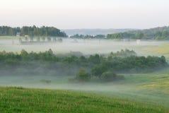 πρωί ομίχλης Στοκ Εικόνες