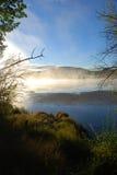 πρωί ομίχλης Στοκ φωτογραφία με δικαίωμα ελεύθερης χρήσης