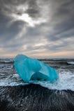 Πρωί παγόβουνων της Ισλανδίας Στοκ φωτογραφία με δικαίωμα ελεύθερης χρήσης