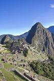 Πρωί που αυξάνεται πέρα από Machu Picchu Στοκ Εικόνα