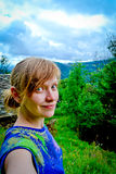 Πρωί στα βουνά Στοκ φωτογραφίες με δικαίωμα ελεύθερης χρήσης