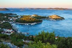 Πρωί στην άποψη ÄŒelinka Στοκ φωτογραφία με δικαίωμα ελεύθερης χρήσης