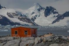 Πρωί στην Ανταρκτική στοκ εικόνα