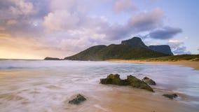 Πρωί στην παραλία Blinky στοκ φωτογραφίες με δικαίωμα ελεύθερης χρήσης