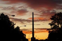 Πρωί στην πόλη Στοκ εικόνα με δικαίωμα ελεύθερης χρήσης