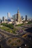 Πρωί στη Βαρσοβία Στοκ Εικόνα