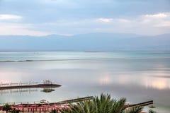 Πρωί στη νεκρή θάλασσα στοκ φωτογραφία με δικαίωμα ελεύθερης χρήσης