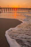 Πρωί στη νότια Καρολίνα Myrtle Beach Στοκ εικόνα με δικαίωμα ελεύθερης χρήσης