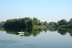 Πρωί στον ποταμό Στοκ εικόνα με δικαίωμα ελεύθερης χρήσης