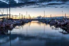 Πρωί στο λιμάνι Στοκ Εικόνα