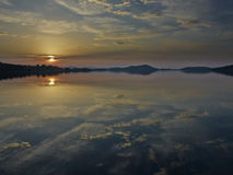 Πρωί στο νησί Στοκ εικόνες με δικαίωμα ελεύθερης χρήσης