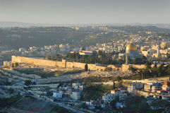 πρωί της Ιερουσαλήμ Στοκ εικόνα με δικαίωμα ελεύθερης χρήσης