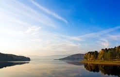 πρωί τοπίων πτώσης Στοκ εικόνα με δικαίωμα ελεύθερης χρήσης