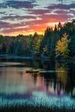 Πρωί του Μίτσιγκαν Στοκ φωτογραφία με δικαίωμα ελεύθερης χρήσης