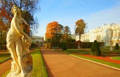 Πρωί φθινοπώρου στο πάρκο της Catherine Στοκ Εικόνες