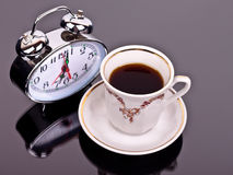 πρωί φλυτζανιών καφέ Στοκ φωτογραφία με δικαίωμα ελεύθερης χρήσης