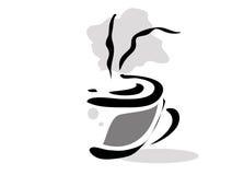 πρωί φλυτζανιών καφέ Στοκ Εικόνα
