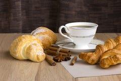 πρωί φλυτζανιών καφέ Στοκ Εικόνες