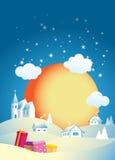 πρωί Χριστουγέννων Στοκ φωτογραφίες με δικαίωμα ελεύθερης χρήσης