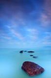 πρωί χρωμάτων παραλιών στοκ φωτογραφία με δικαίωμα ελεύθερης χρήσης