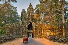 Πρωί Angkor Wat, Καμπότζη Στοκ φωτογραφία με δικαίωμα ελεύθερης χρήσης
