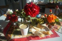 Πρωί roses11 Στοκ φωτογραφία με δικαίωμα ελεύθερης χρήσης