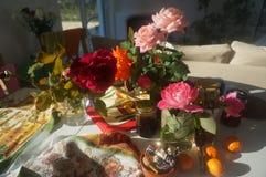 Πρωί roses7 Στοκ εικόνα με δικαίωμα ελεύθερης χρήσης