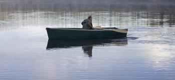 Πρωί rower Στοκ εικόνες με δικαίωμα ελεύθερης χρήσης