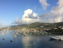 Πρωί St. Kitts Στοκ φωτογραφία με δικαίωμα ελεύθερης χρήσης