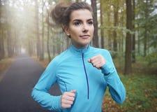 Πρωί workout στοκ φωτογραφίες με δικαίωμα ελεύθερης χρήσης