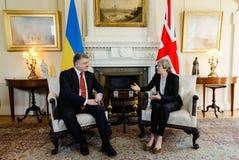 Πρωθυπουργός του Ηνωμένου Βασιλείου Theresa Μάιος Στοκ Εικόνες