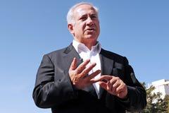 Πρωθυπουργός του Ισραήλ - Benjamin Netanyahu Στοκ φωτογραφίες με δικαίωμα ελεύθερης χρήσης