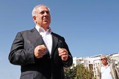 Πρωθυπουργός του Ισραήλ - Benjamin Netanyahu Στοκ Εικόνες